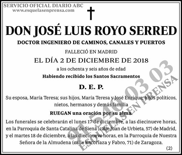 José Luis Royo Serred
